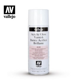 Vallejo Spray - 28.530 Acrylic Gloss Spray Varnish (400ml)