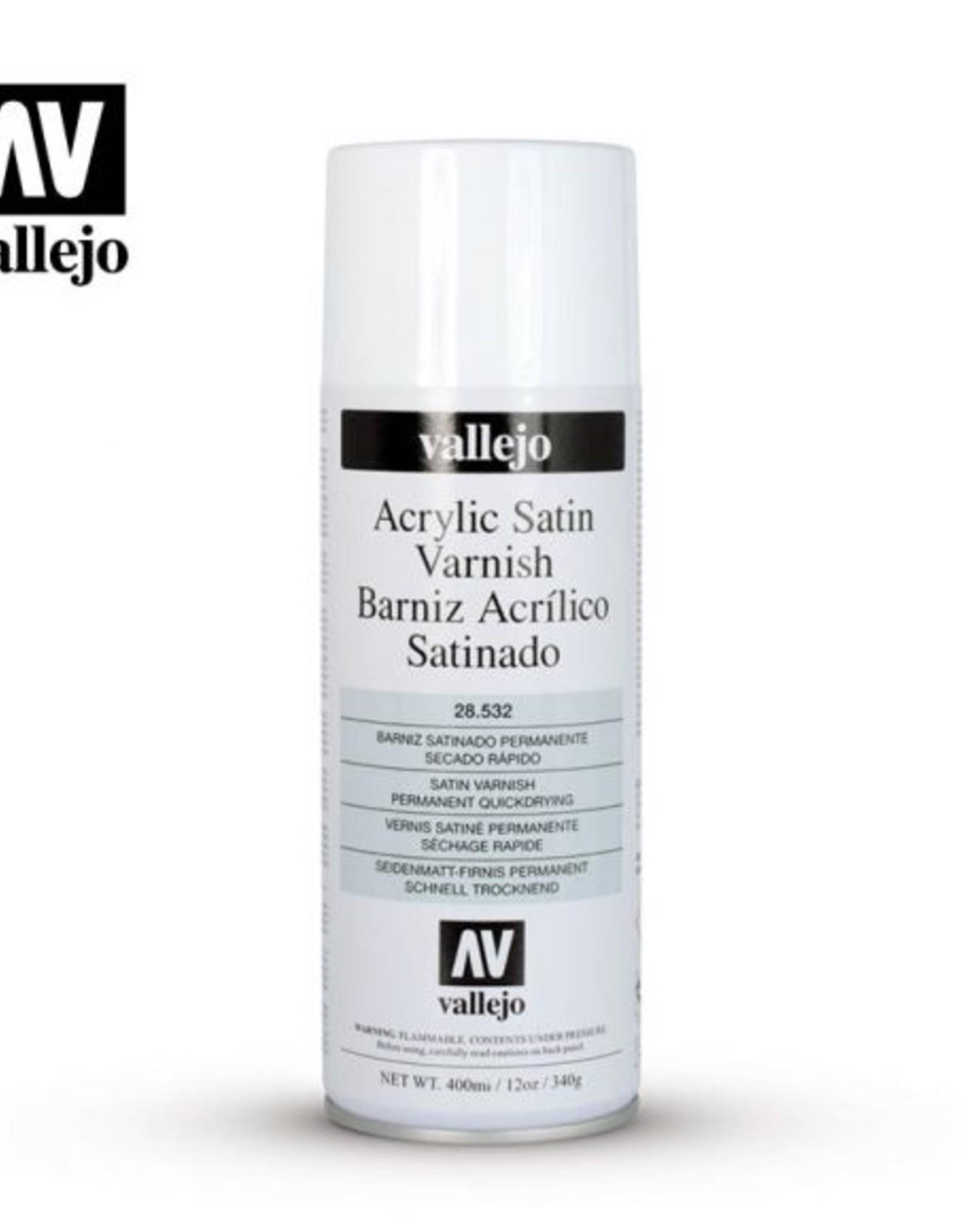 Vallejo Spray -  28.532 Acrylic Satin Spray Varnish