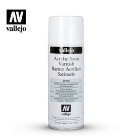 Vallejo Spray -  28.532 Acrylic Satin Spray Varnish
