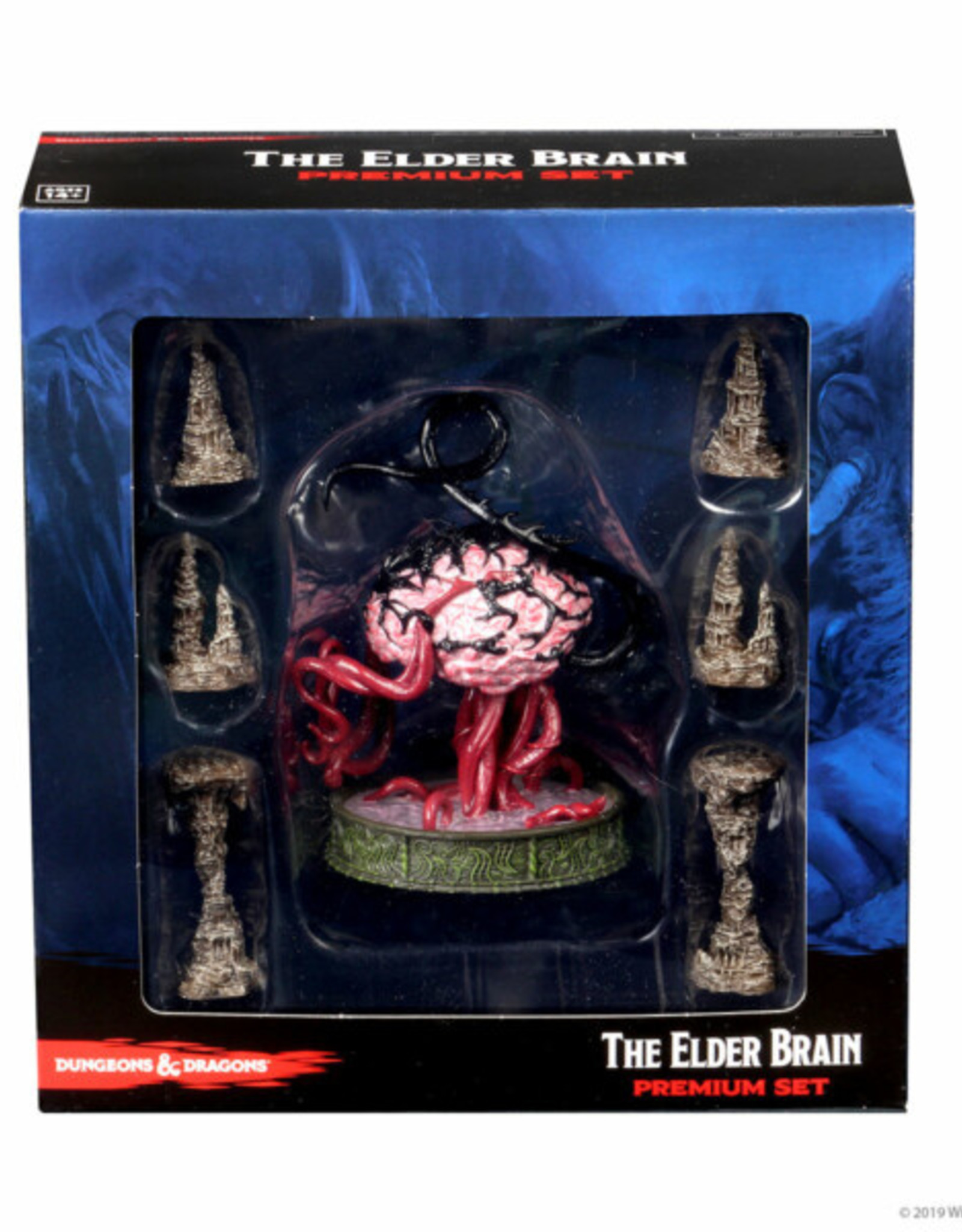 Wizkids D&D Icons of the Realms: Volo & Mordenkainen The Elder Brain Premium Figure