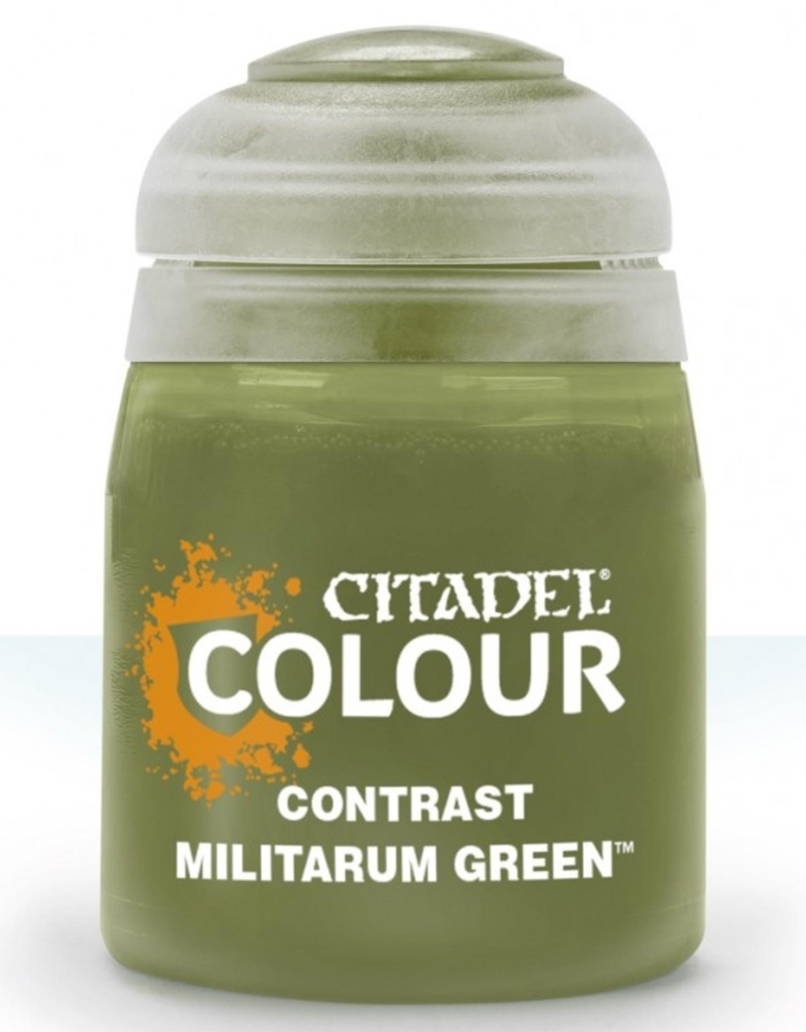 Games Workshop (Citadel) - Contrast: Militarum Green