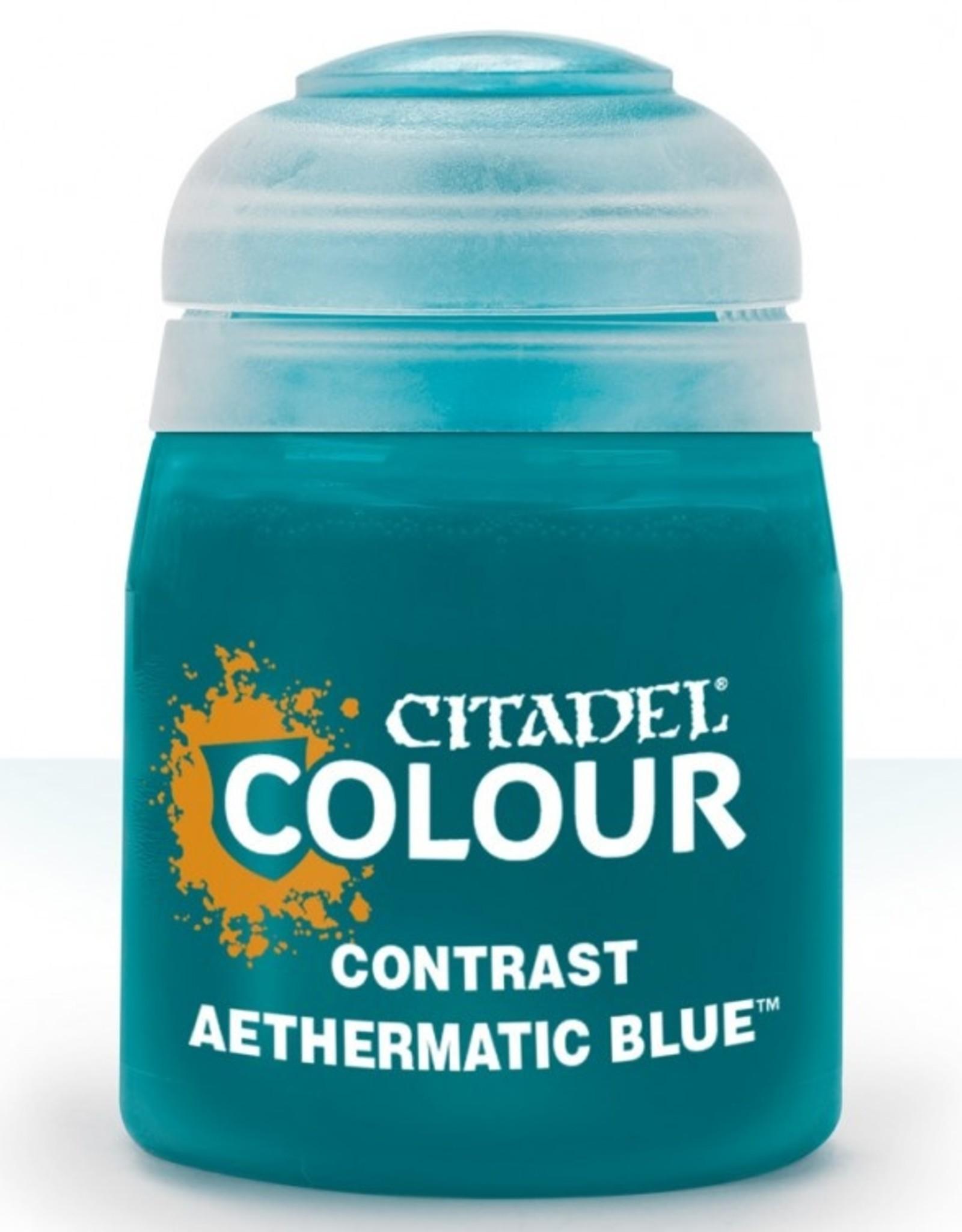 Games Workshop (Citadel) - Contrast: Aethermatic Blue