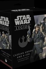 Fantasy Flight Star Wars Legion: Cassian Andor and K-2SO Commander Expansion
