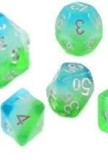 Sirius Dice Blue Hawaiian 7-Die Set