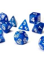 Sirius Dice Pearl Blue Acrylic 7-die set
