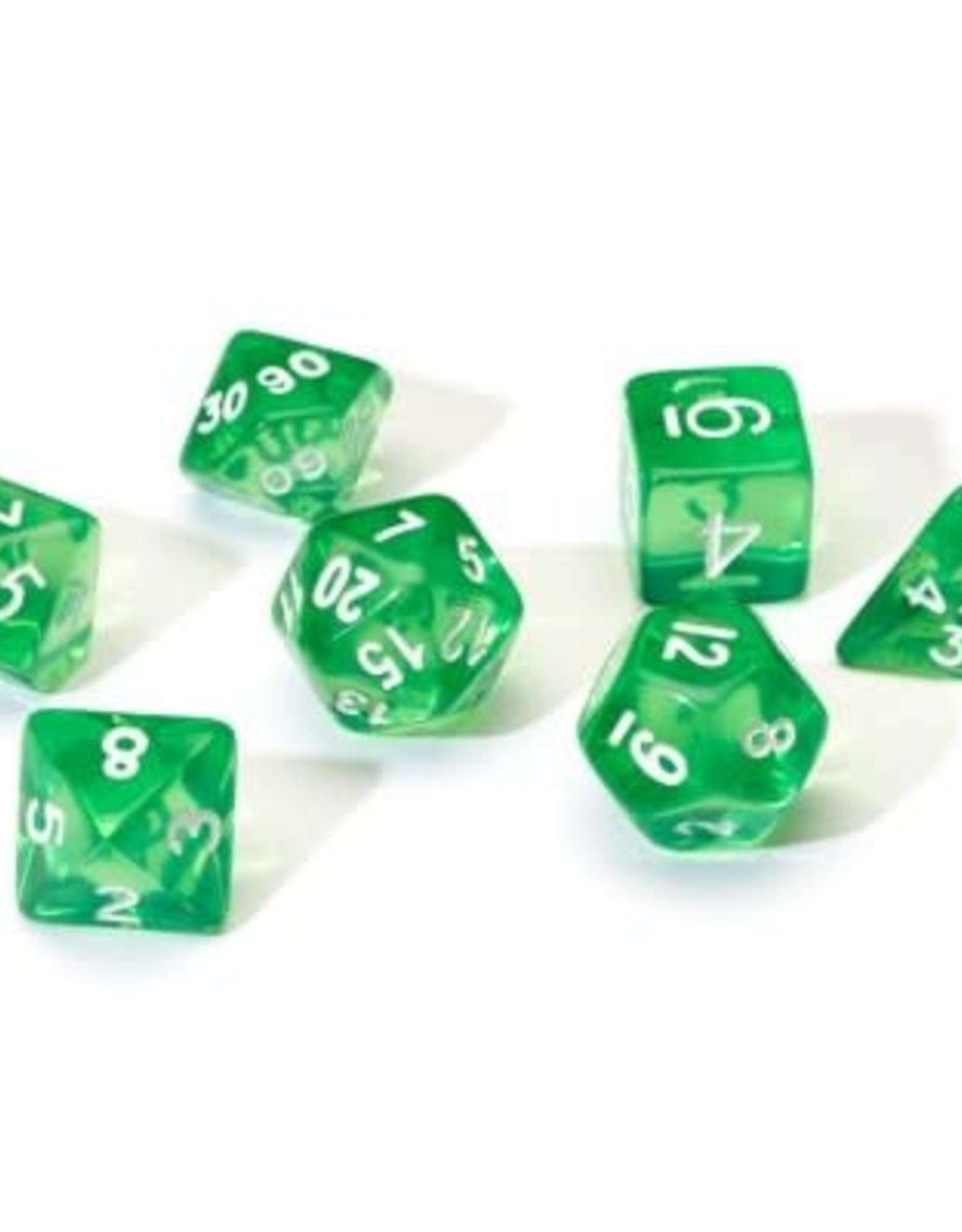 Sirius Dice Sirius Dice: Translucent Green Resin