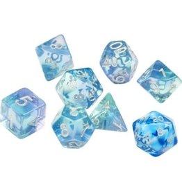 Sirius Dice Emerald Waters 7-die set