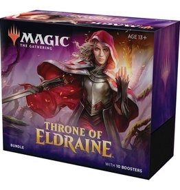 WOTC MTG Throne of Eldraine Bundle (Fat Pack)