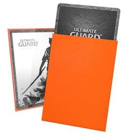 Ultimate Guard Katana Sleeves: 100 Count: Orange