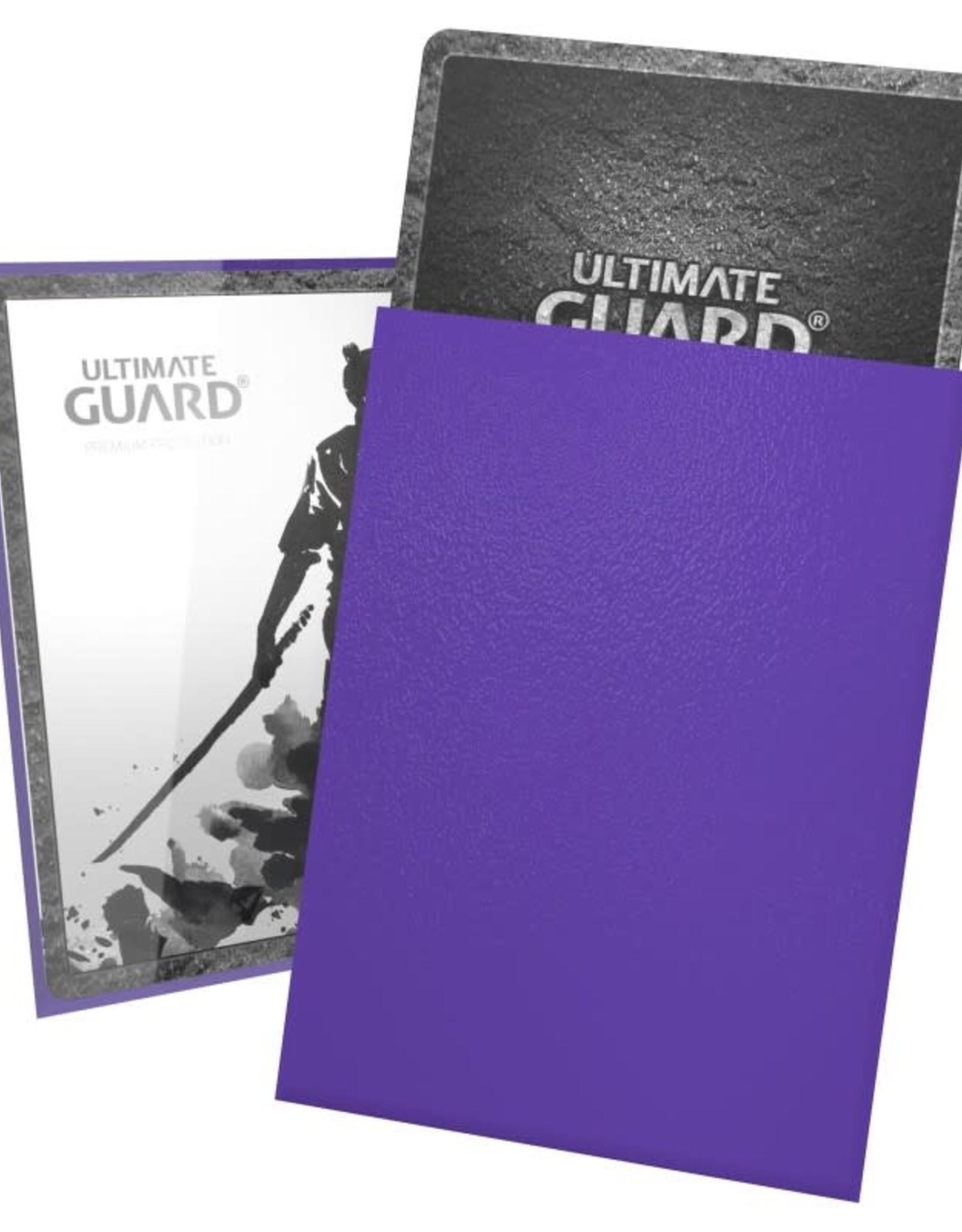 Ultimate Guard Katana Sleeves: 100 Count: Purple