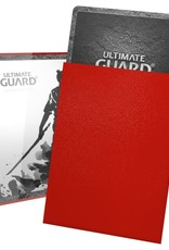 Ultimate Guard Katana Sleeves: 100 Count: Red