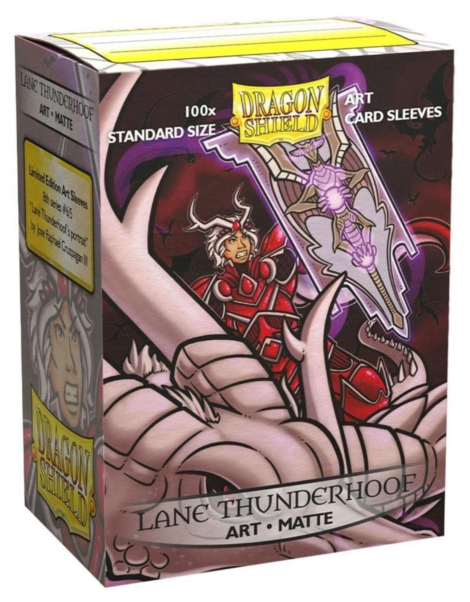 Dragon Shields Matte Art (Lane Thunderhoof) (100 Count)