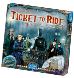 Days of Wonder Ticket to Ride United Kingdom