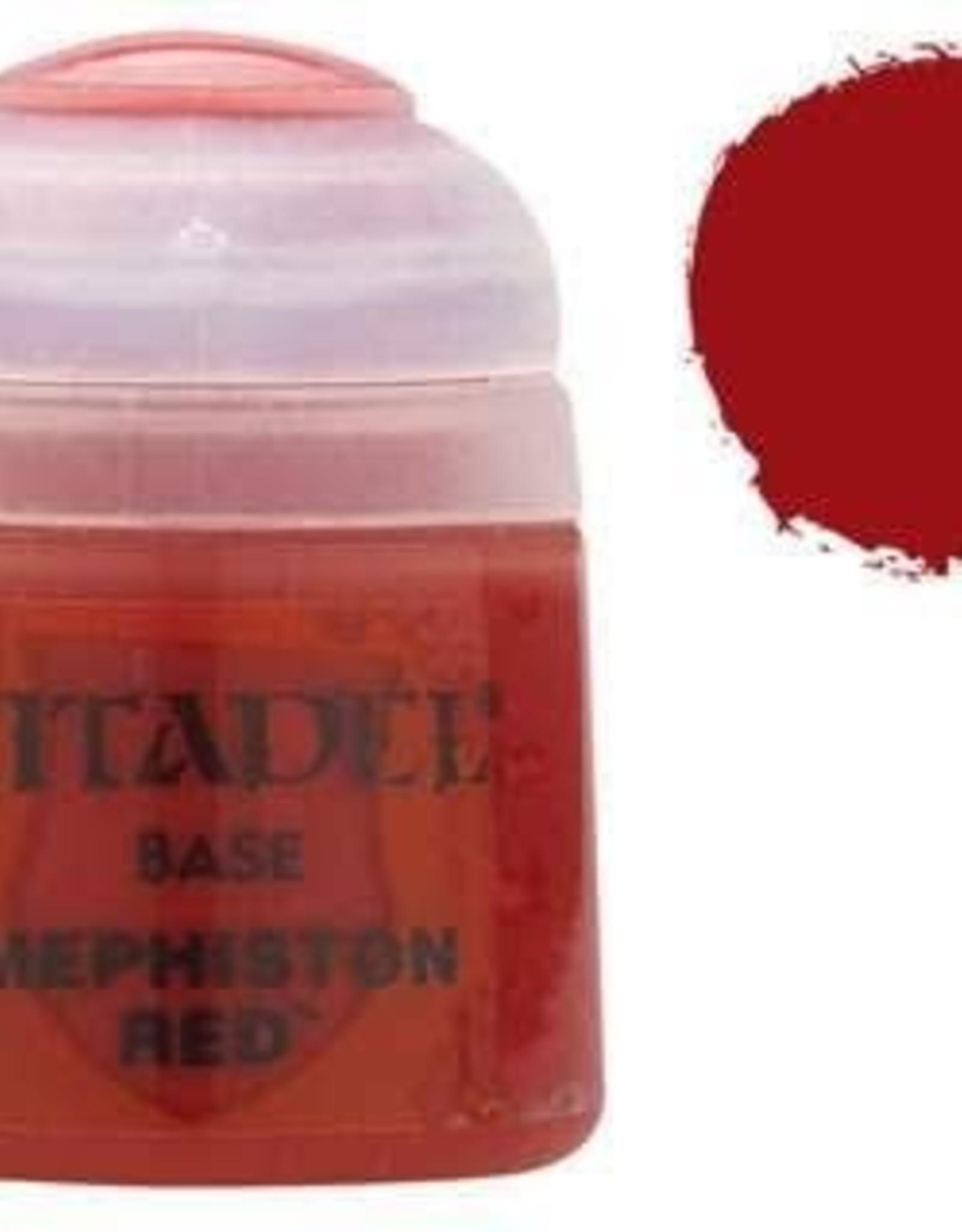 Games Workshop Citadel Paint: Base - Mephiston Red