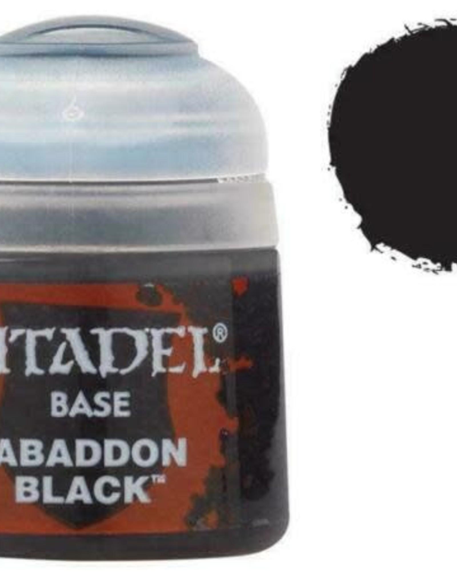 Games Workshop Citadel Paint: Base - Abaddon Black