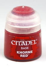 Games Workshop Citadel Paint: Base - Khorne Red