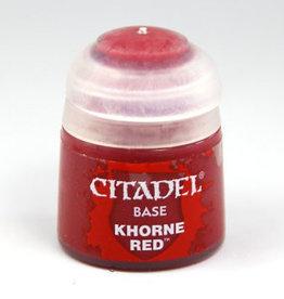 Games Workshop Citadel Paint: Base - Khorne Red