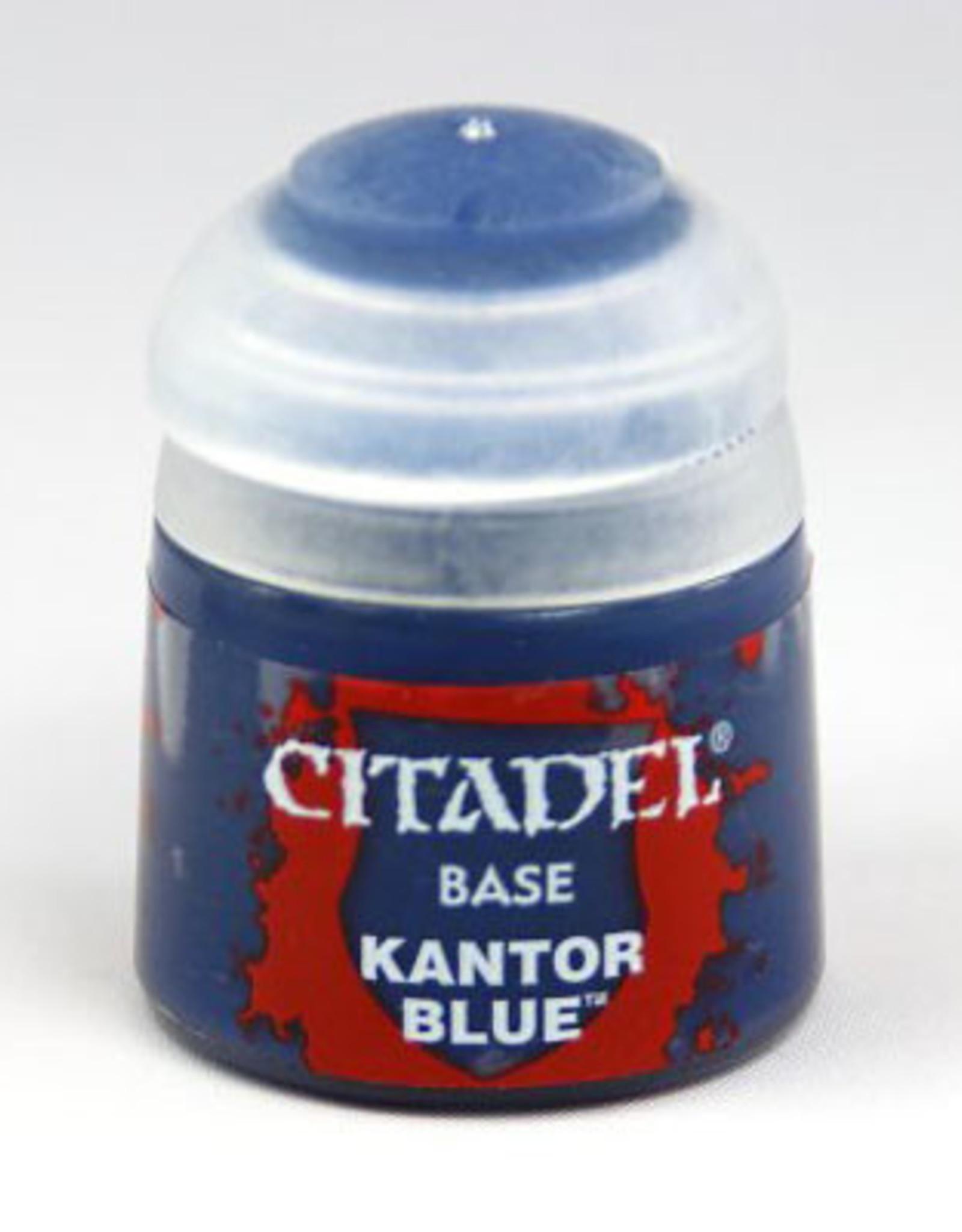 Games Workshop Citadel Paint: Base - Kantor Blue