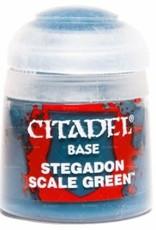 Games Workshop Citadel Paint: Base - Stegadon Scale Green