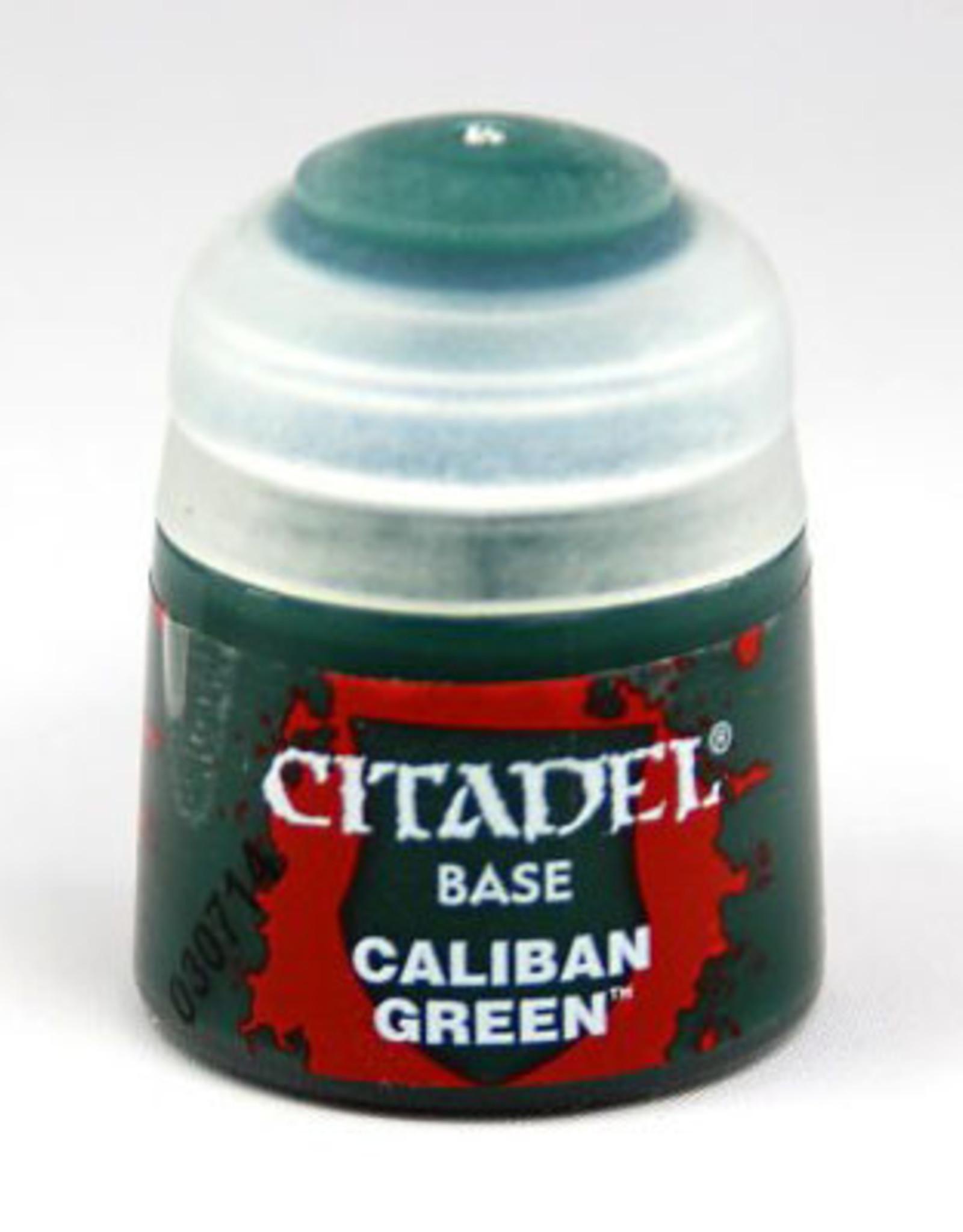 Games Workshop Citadel Paint: Base - Caliban Green