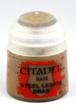Games Workshop Citadel Paint: Base - Steel Legion Drab