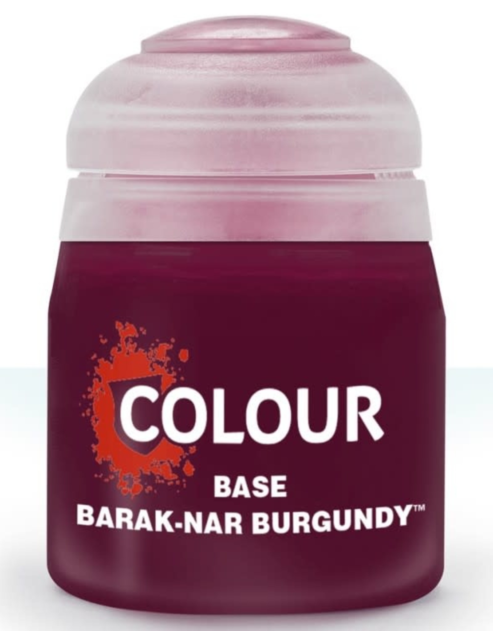 Games Workshop Citadel Paint: Base - Barak-Nar Burgundy