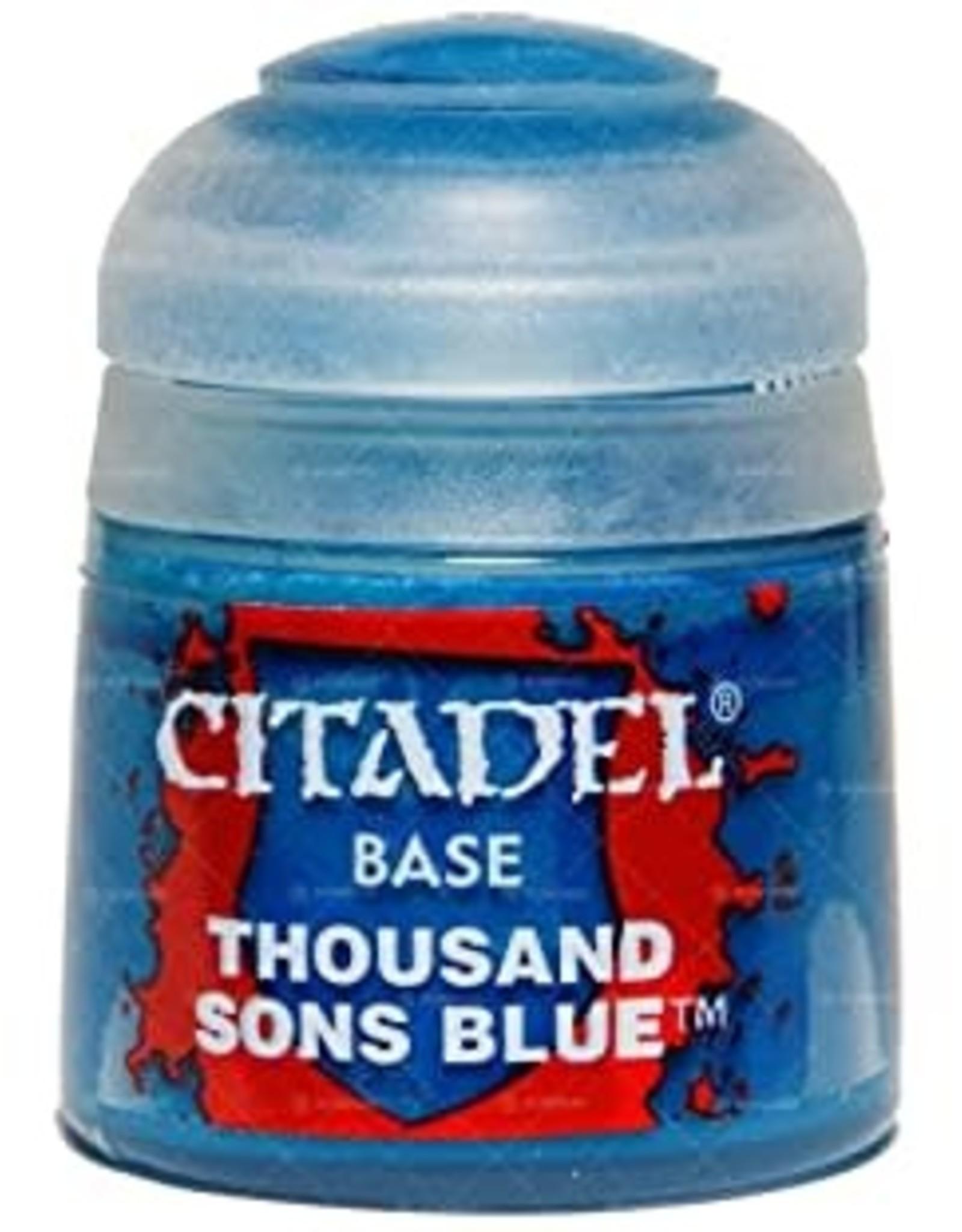Games Workshop Citadel Paint: Base - Thousand Sons Blue 12ml