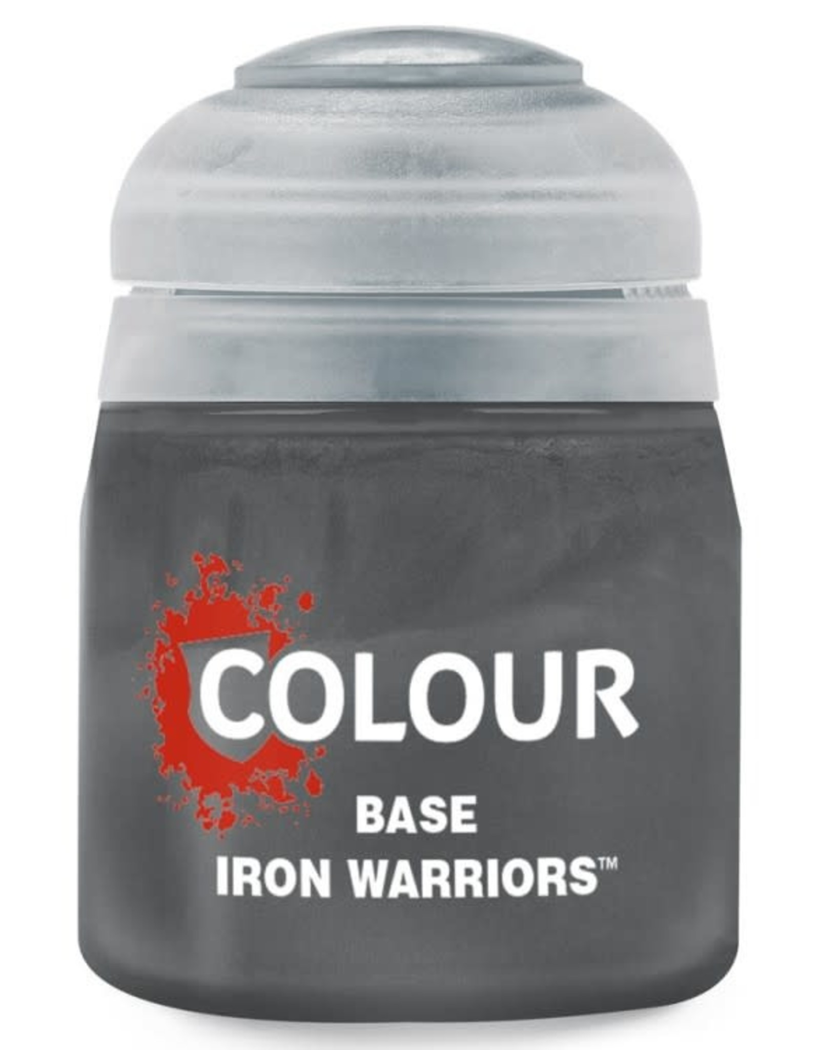 Games Workshop Citadel Paint: Base - Iron Warriors