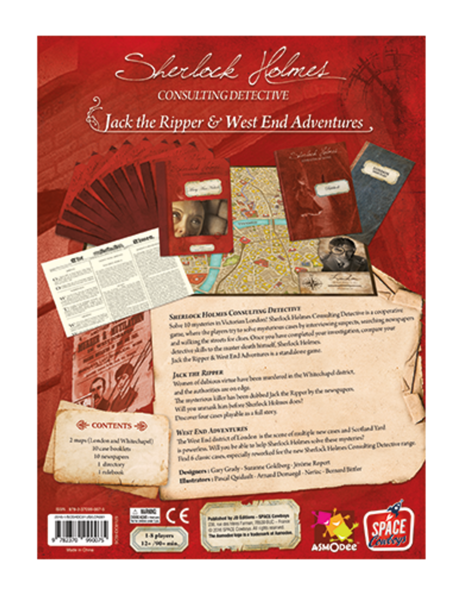 Space Cowboys Sherlock Holmes: Consulting Detective: Jack the Ripper & West End Adventures