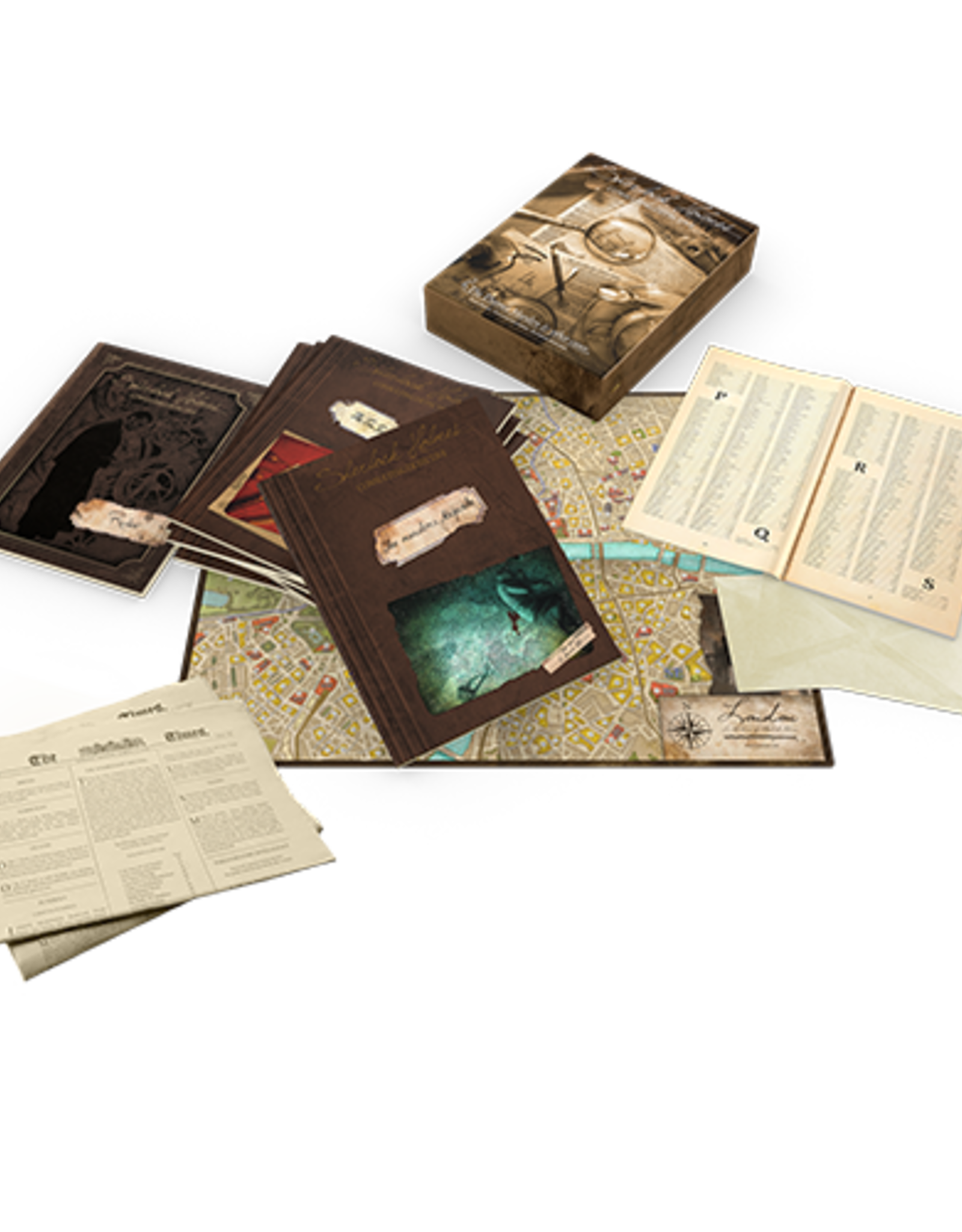 Space Cowboys Sherlock Holmes: Consulting Detective: Thames Murders