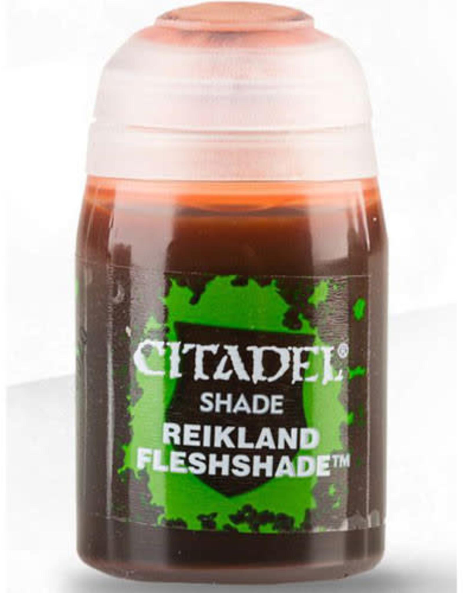 Games Workshop Citadel Paint: Shade - Reikland Fleshshade