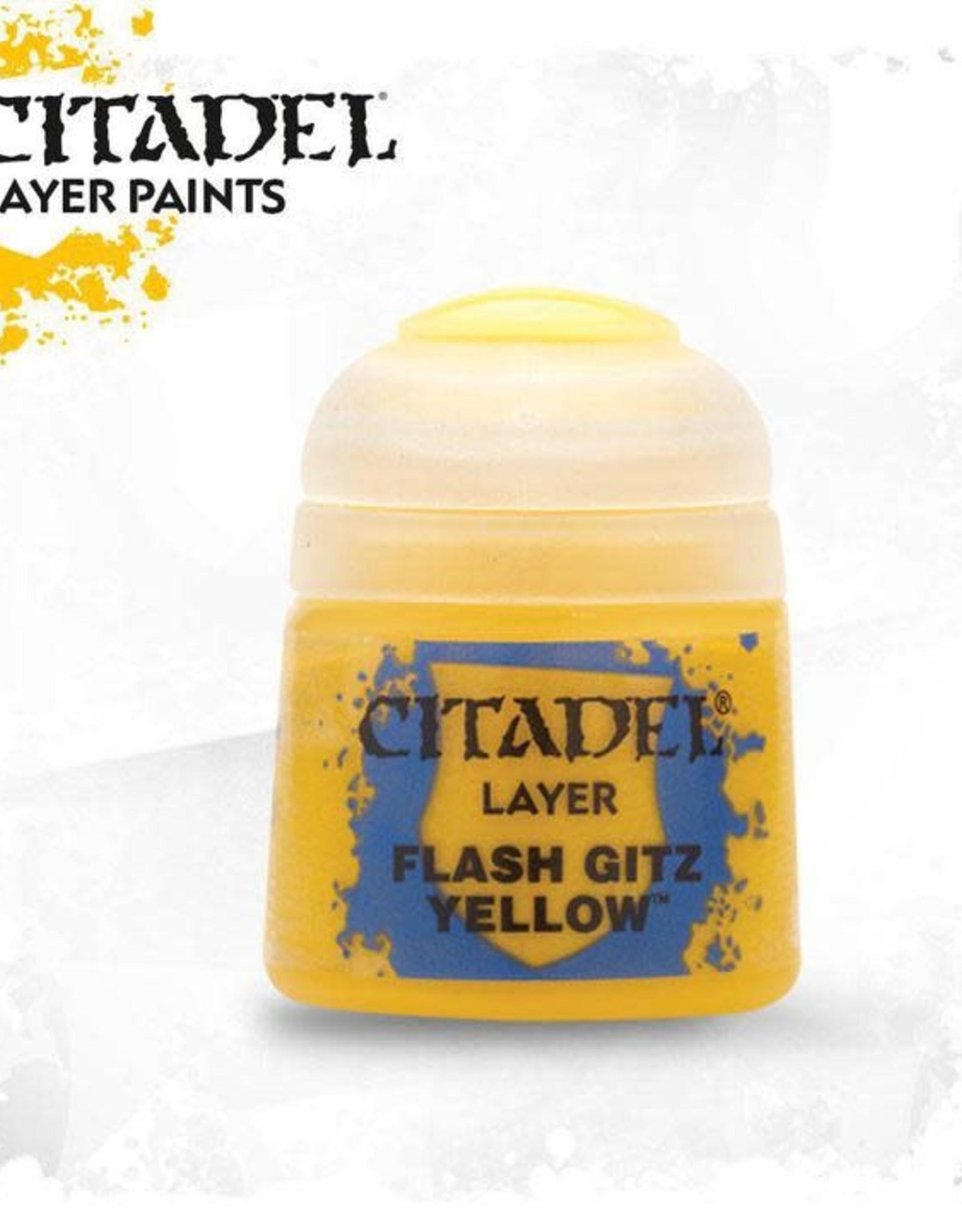 Games Workshop Citadel Paint: Layer - Flash Gitz Yellow