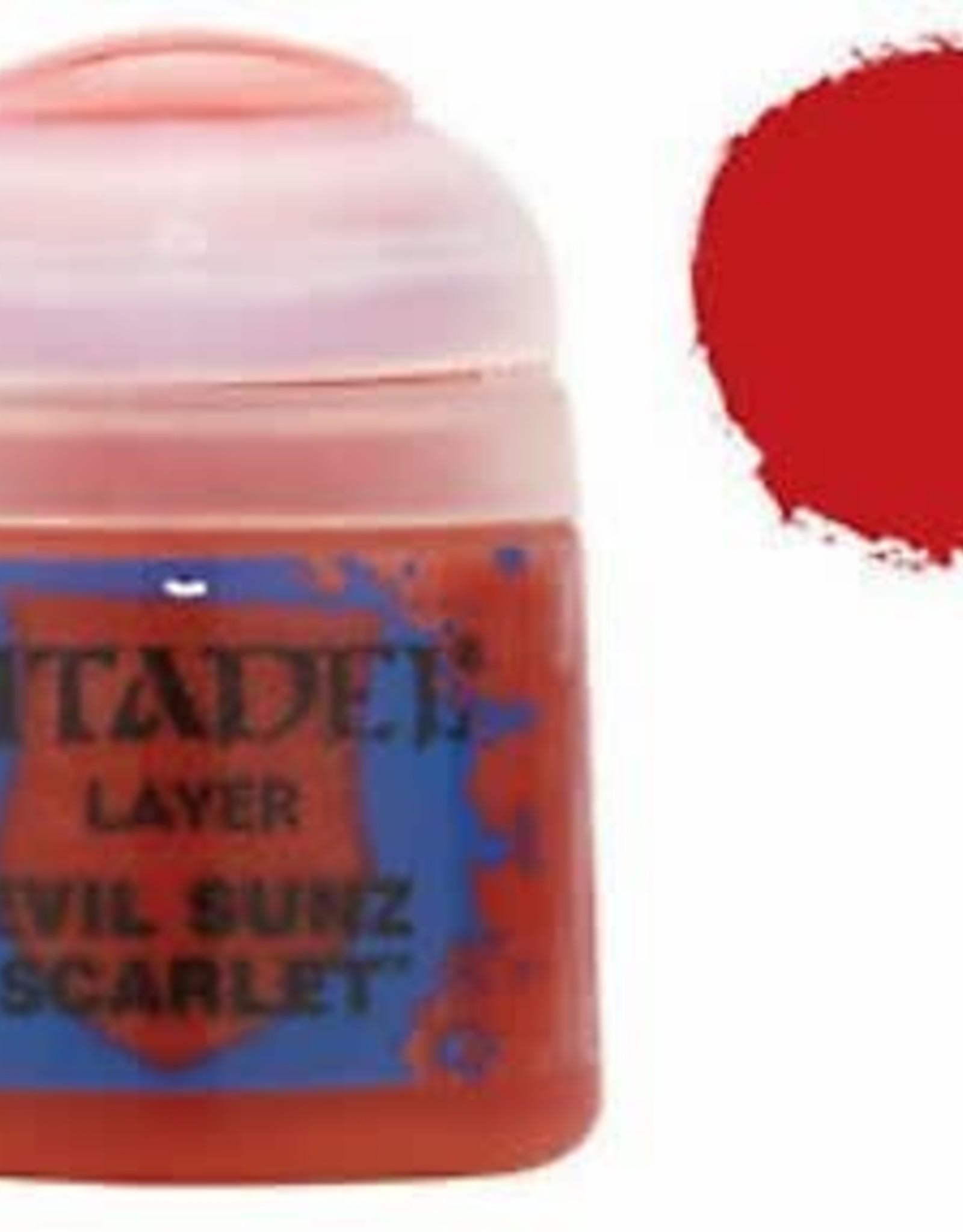 Games Workshop Citadel Paint: Layer - Evil Sunz Scarlet