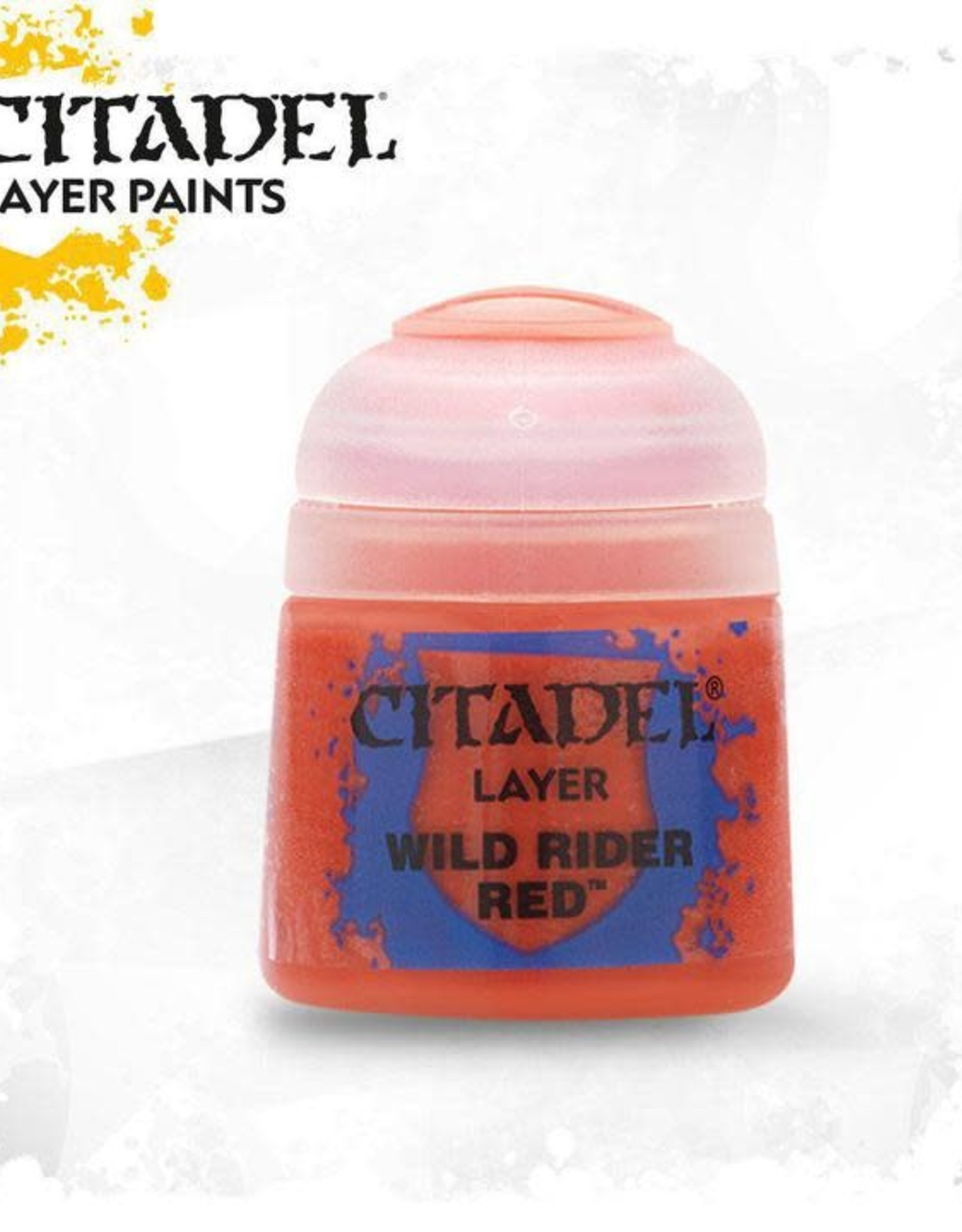 Games Workshop Citadel Paint: Layer - Wild Rider Red