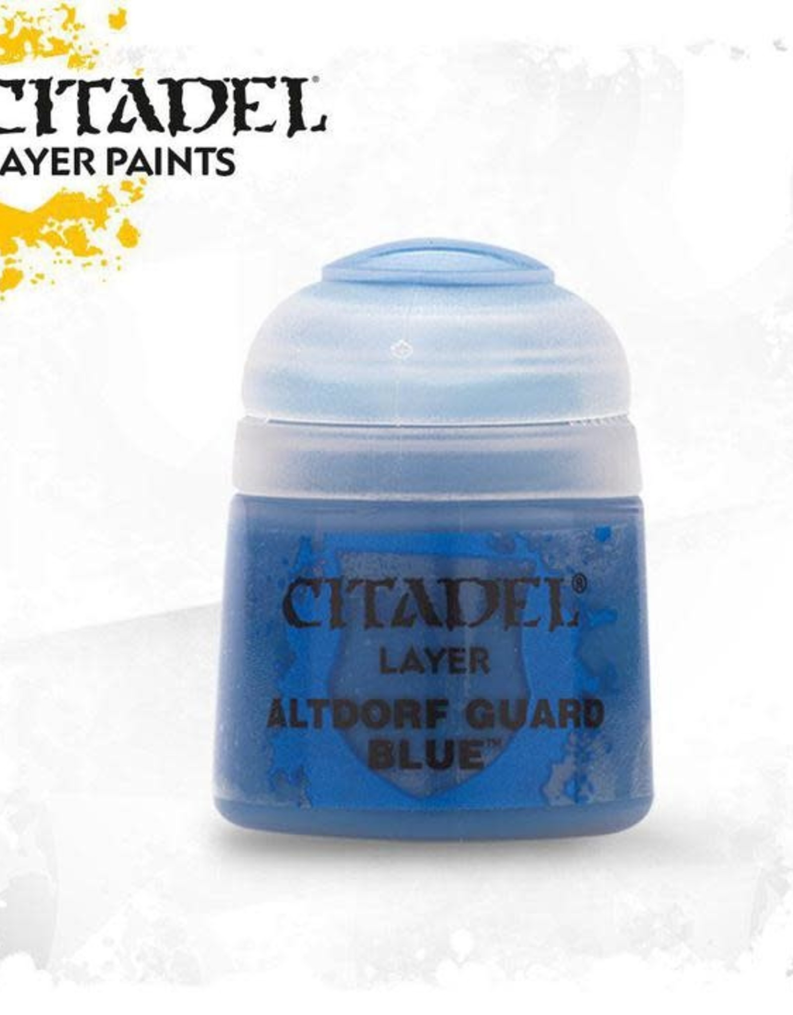 Games Workshop Citadel Paint: Layer - Altdorf Guard Blue