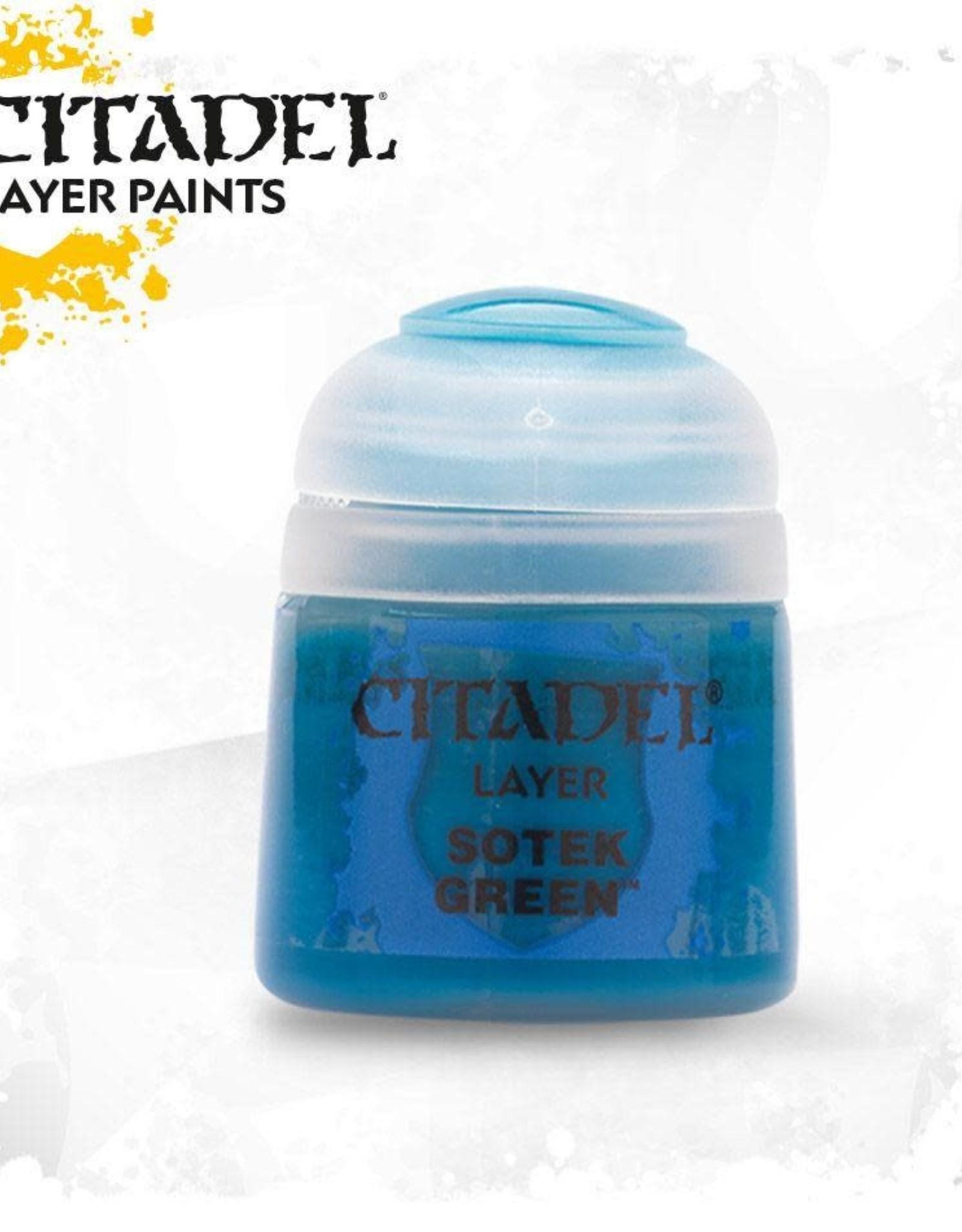 Games Workshop Citadel Paint: Layer - Sotek Green