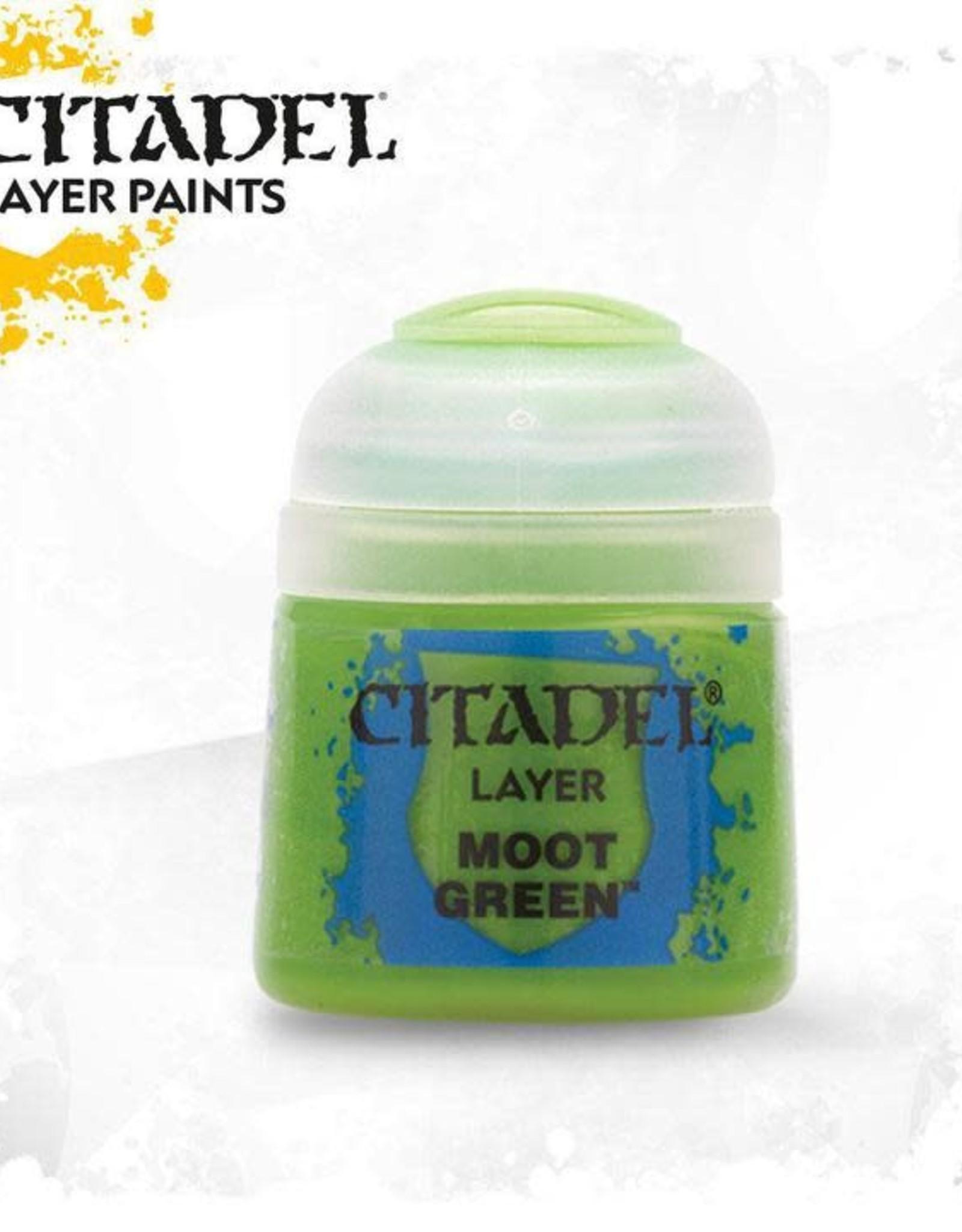 Games Workshop Citadel Paint: Layer - Moot Green