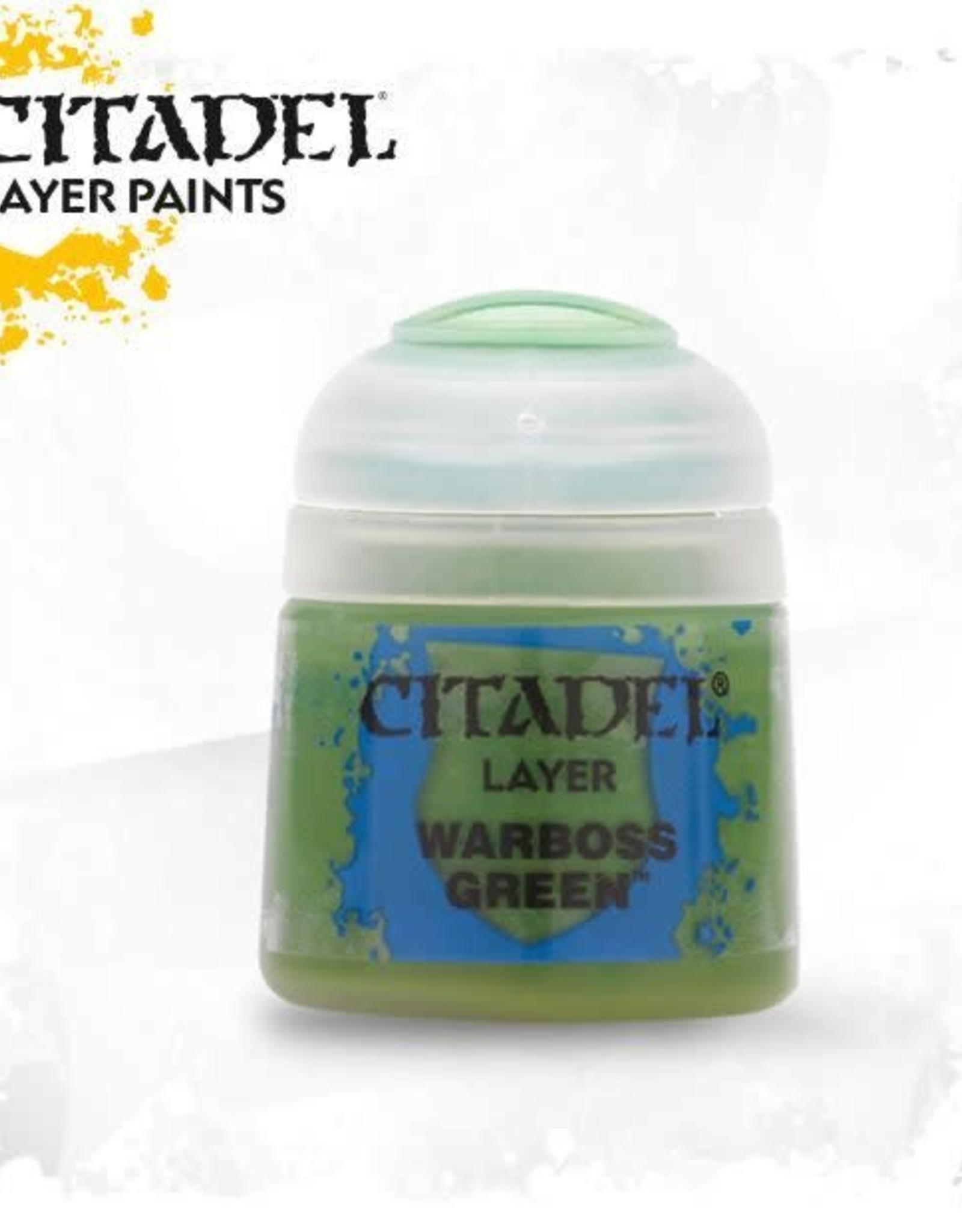 Games Workshop Citadel Paint: Layer - Warboss Green