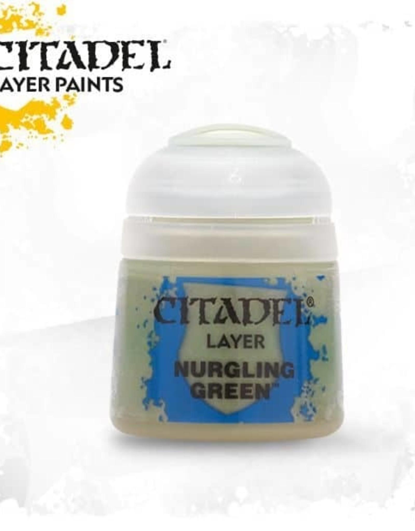 Games Workshop Citadel Paint: Layer - Nurgling Green