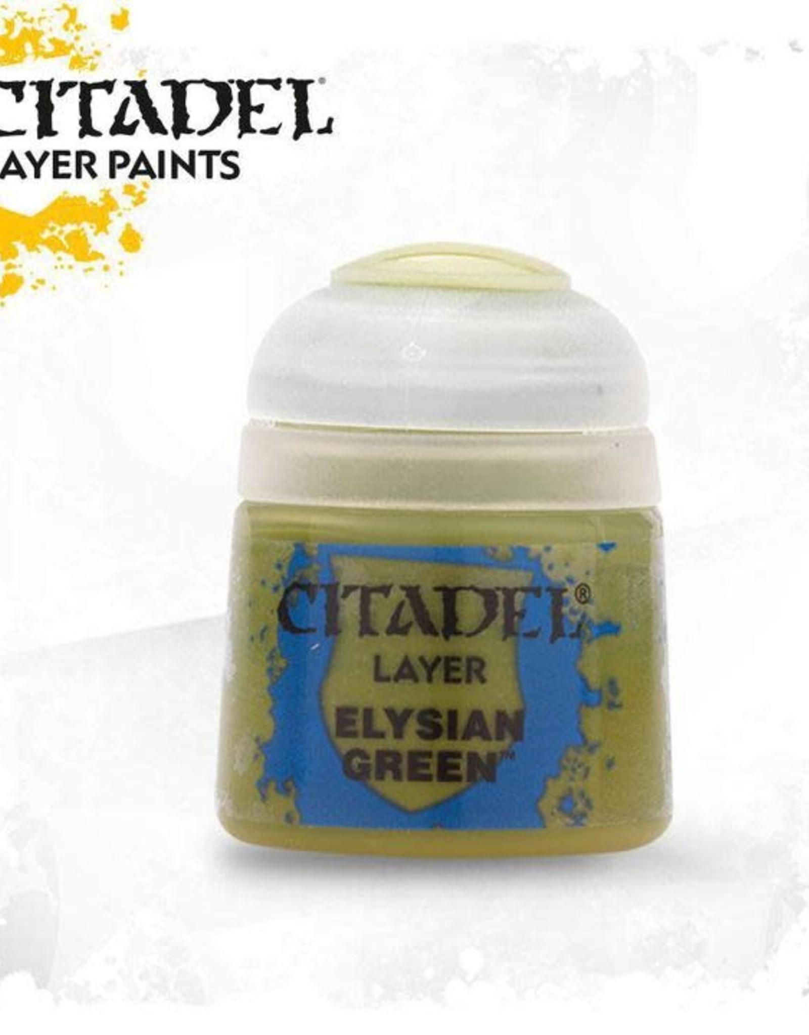 Games Workshop Citadel Paint: Layer - Elysian Green