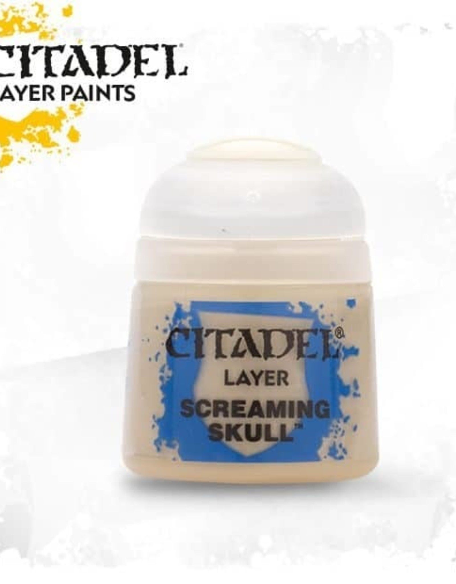 Games Workshop Citadel Paint: Layer - Screaming Skull