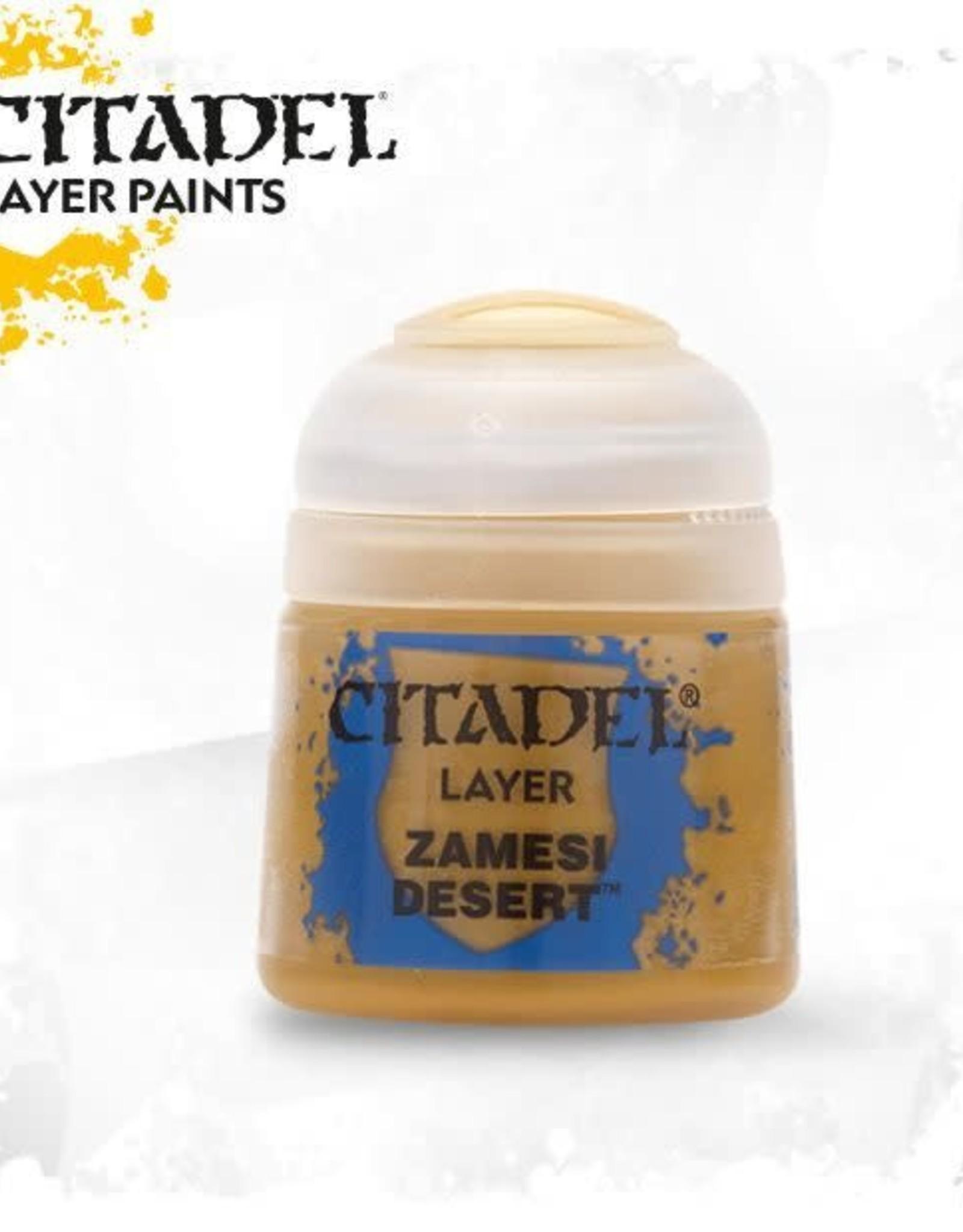 Games Workshop Citadel Paint: Layer - Zamesi Desert