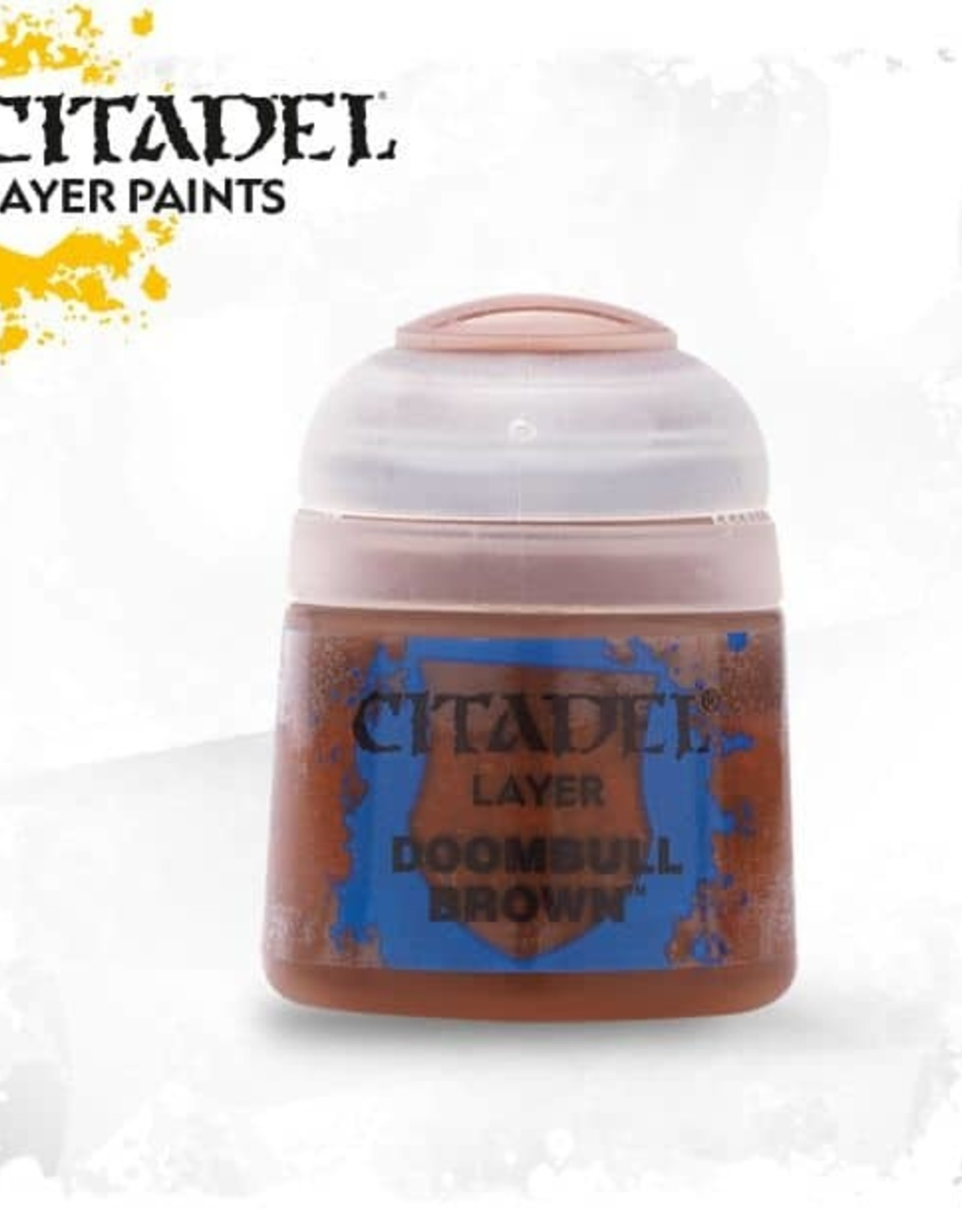 Games Workshop Citadel Paint: Layer - Doombull Brown