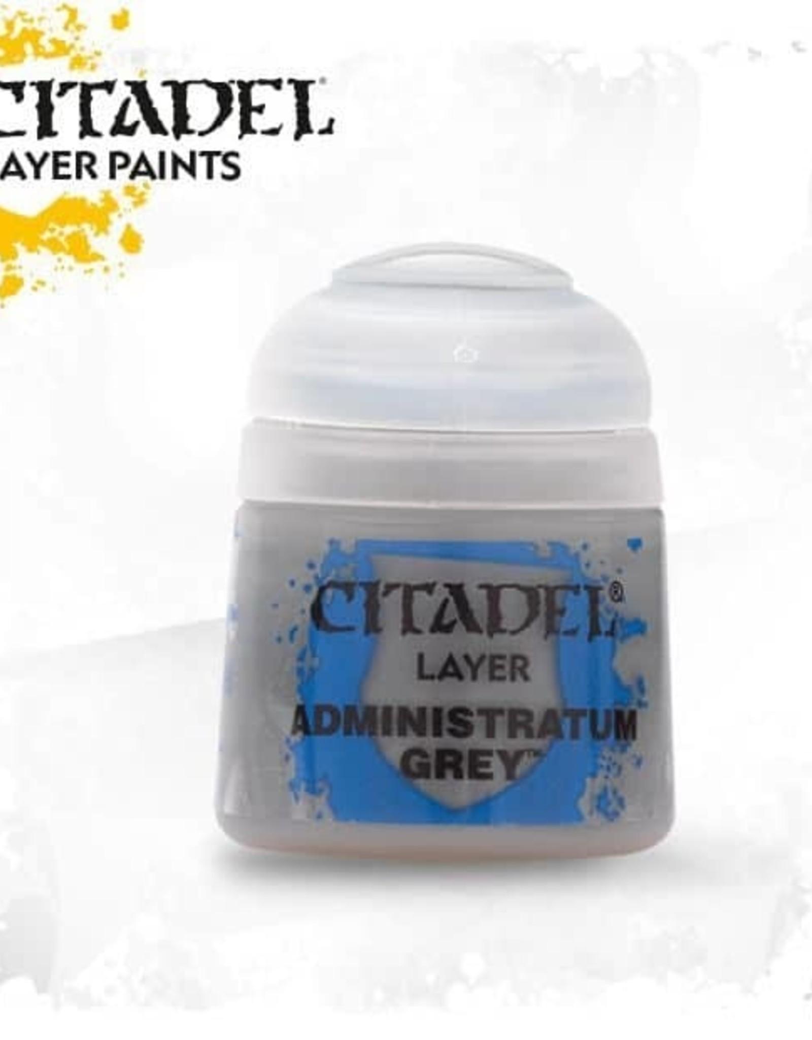 Games Workshop Citadel Paint: Layer - Administratum Grey