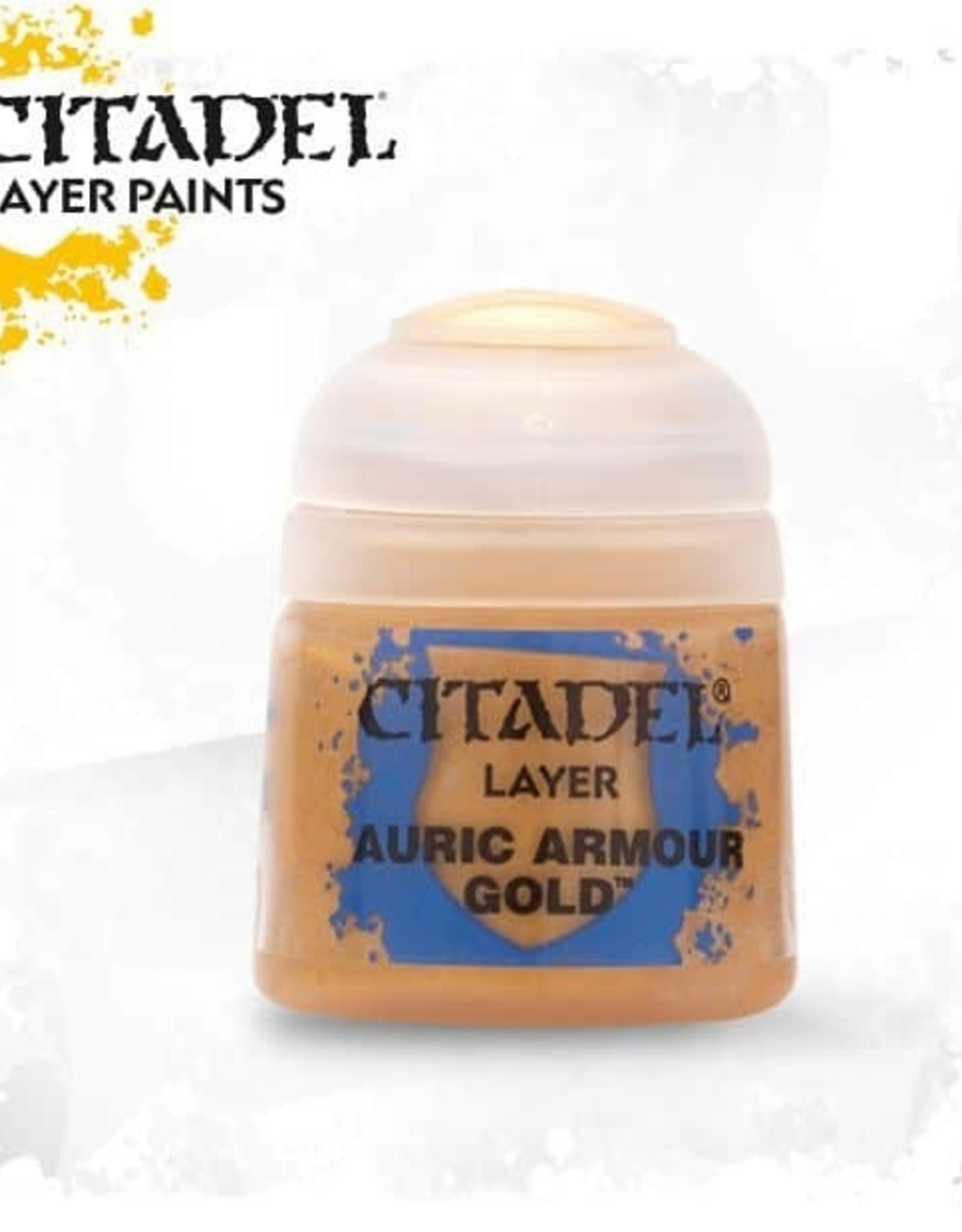 Games Workshop Citadel Paint: Layer - Auruc Armour Gold