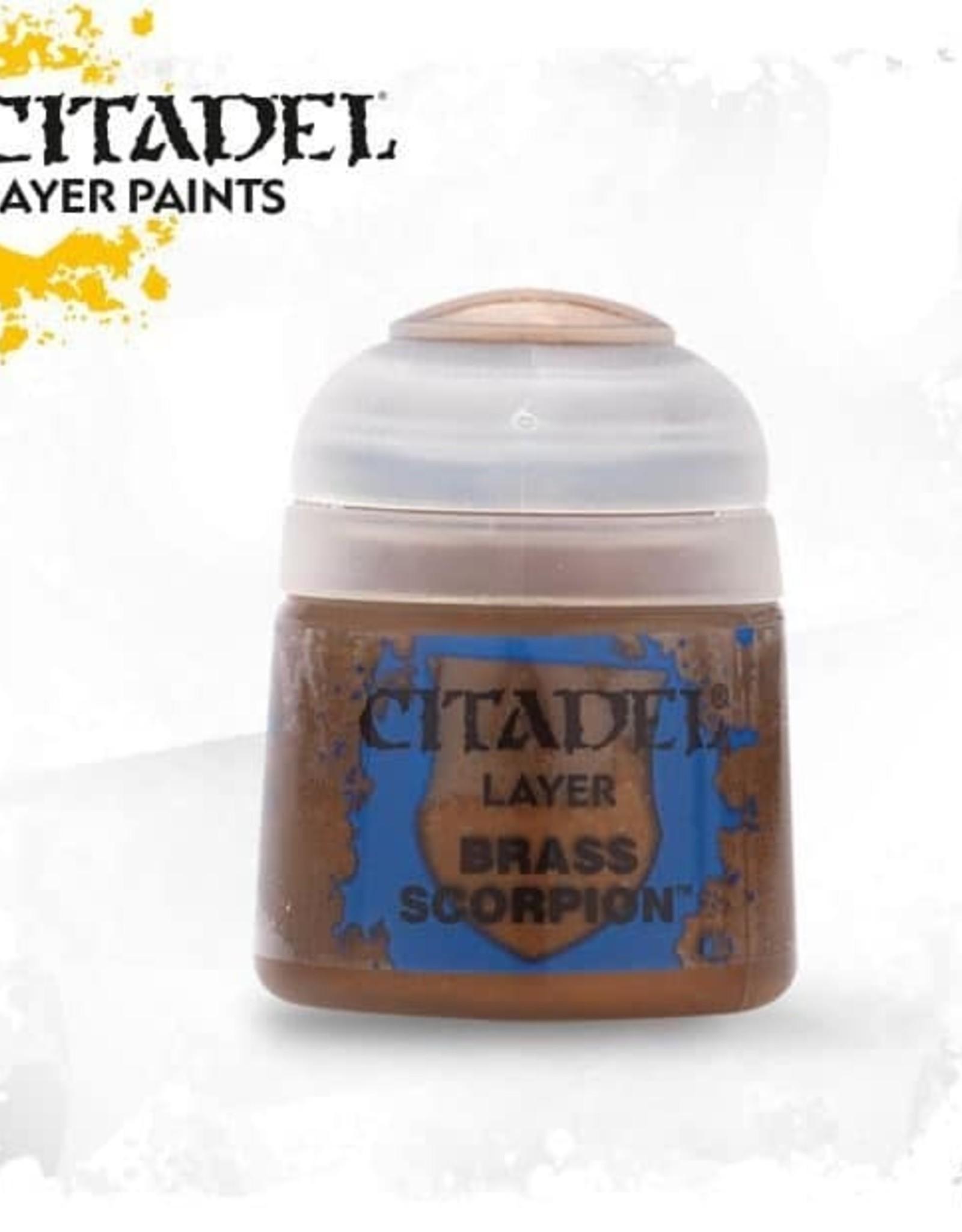 Games Workshop Citadel Paint: Layer - Brass Scorpion