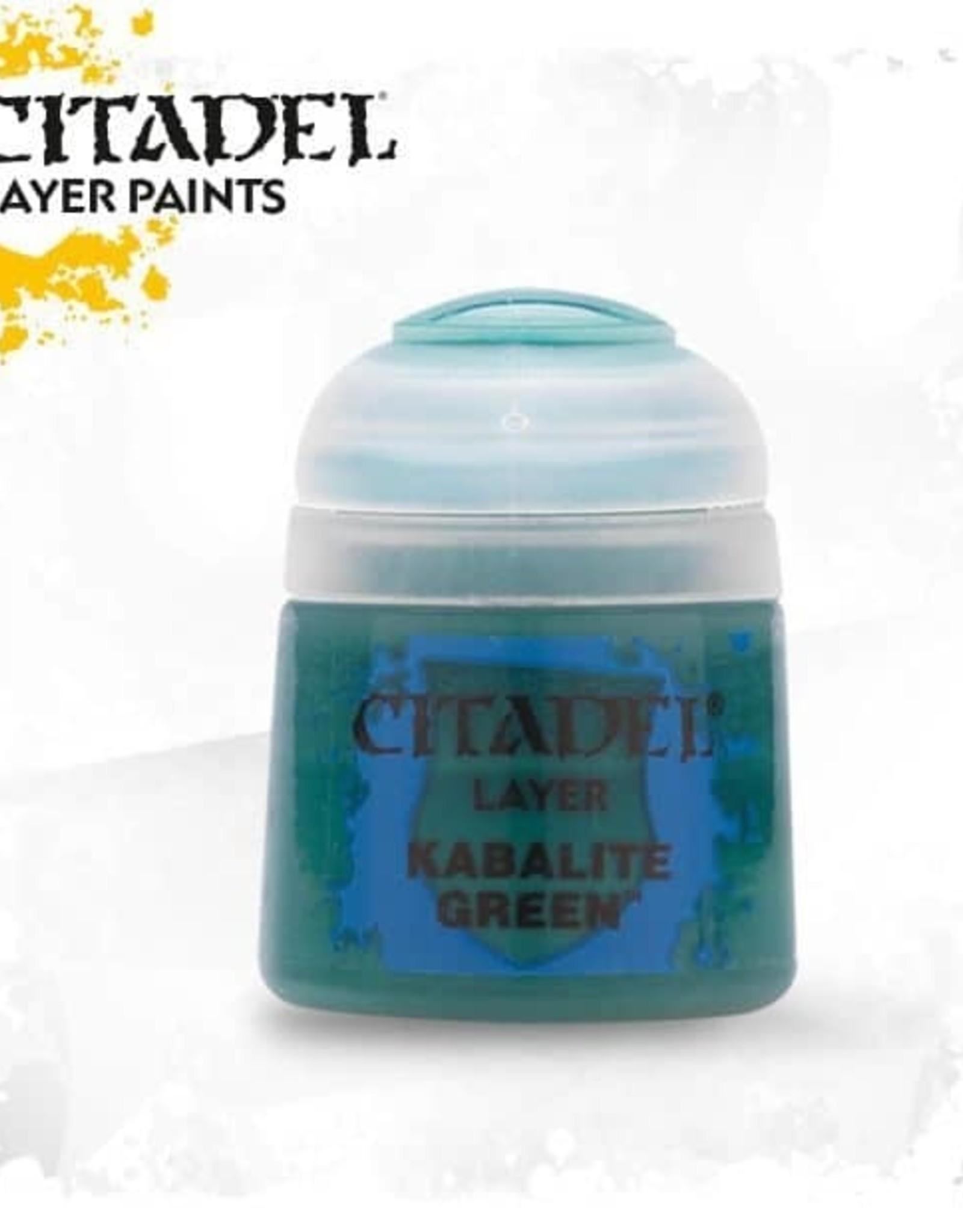 Games Workshop Citadel Paint: Layer - Kabalite Green