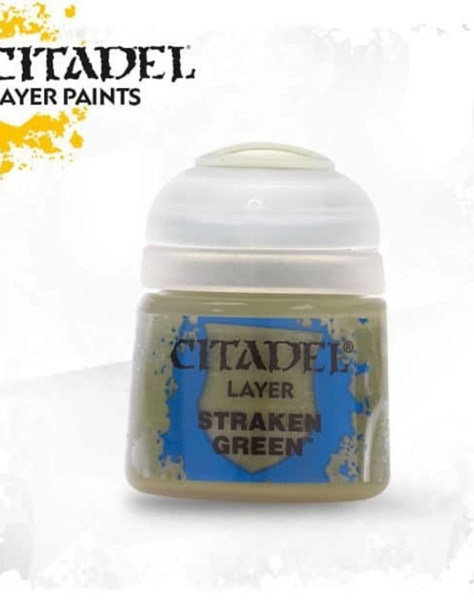 Games Workshop Citadel Paint: Layer - Straken Green