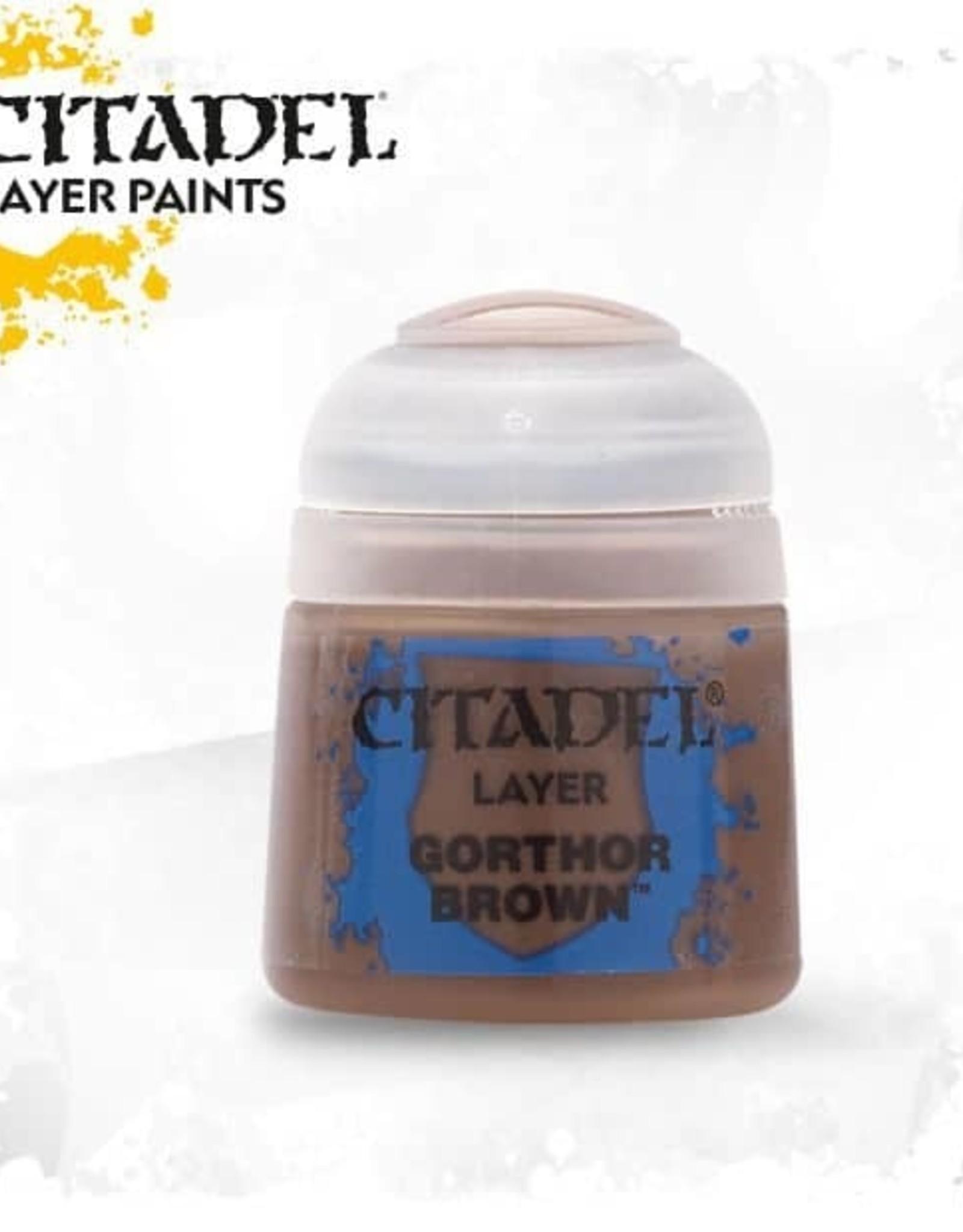 Games Workshop Citadel Paint: Layer - Gorthor Brown