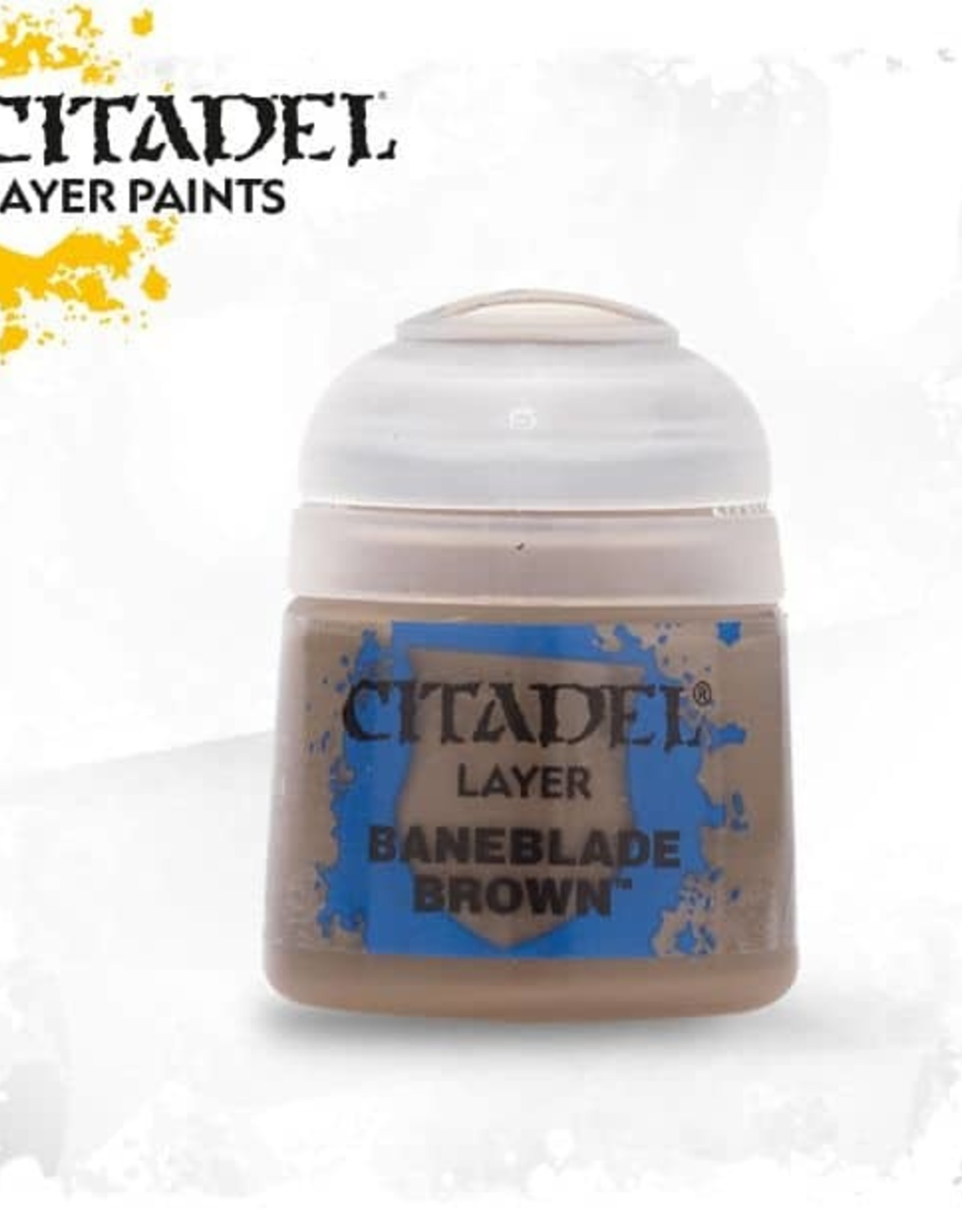 Games Workshop Citadel Paint: Layer - Baneblade Brown